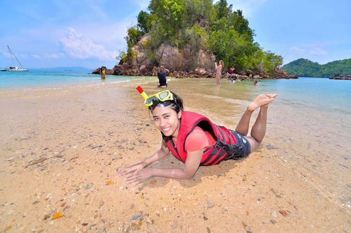 ทัวร์ 4 เกาะทะเลแหวก