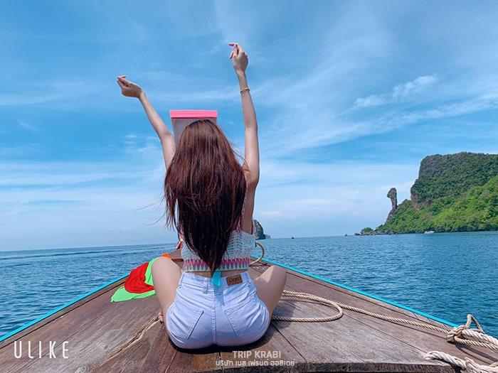 เรือหางยาว กระบี่